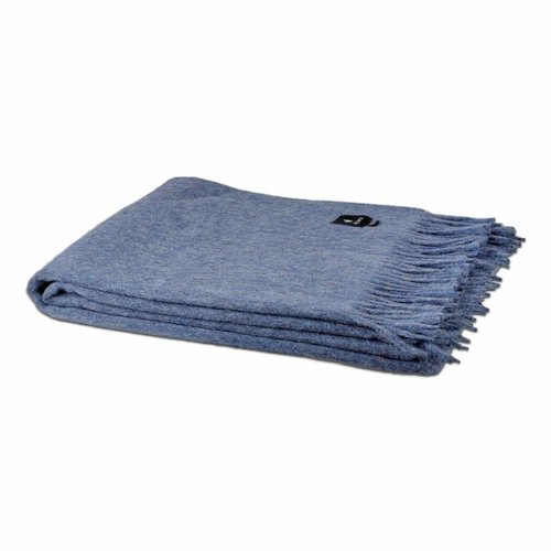 Van Buren Bolsward  Alpaca throw | Blue