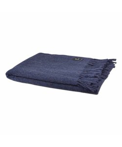 Alpaca plaid | Dark blue