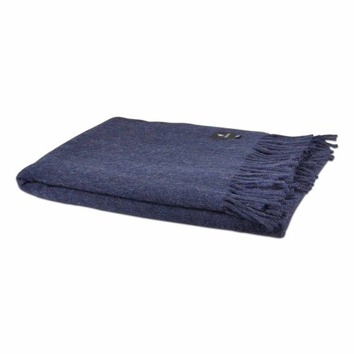 Van Buren Bolsward  Alpaca plaid | Dark blue