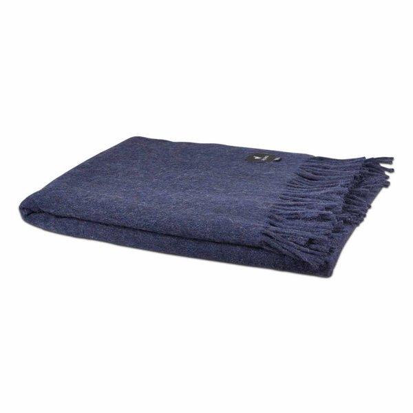 Alpaca plaid | Donkerblauw 200x150 cm