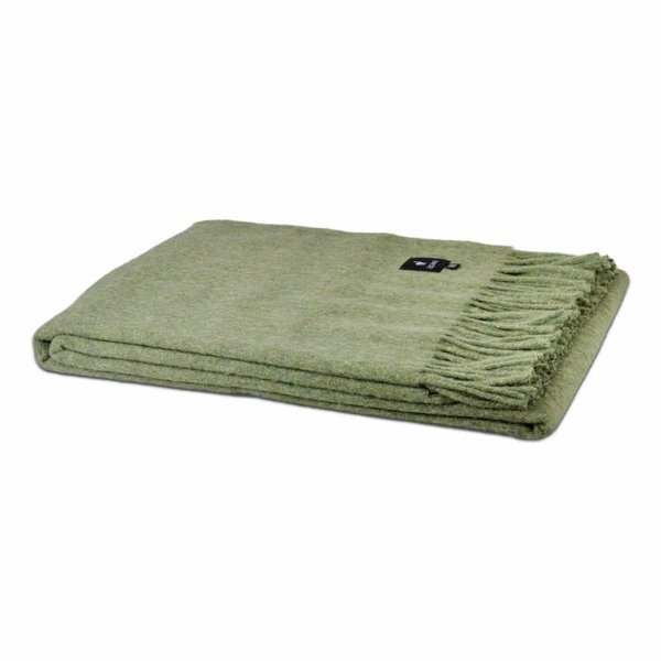 Alpaca plaid | Groen 200x150 cm