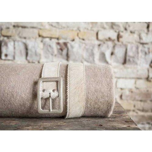 Van Buren Bolsward  Alpaca Plaid | Beige 200x150 cm