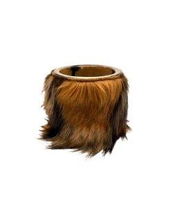 Flowerpot Berner | Fur brown