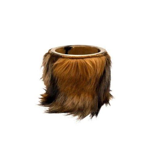 Raaf Flowerpot Berner | Fur brown