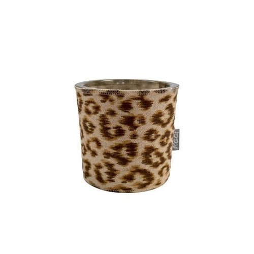 Raaf Waxine light holder Panter brown
