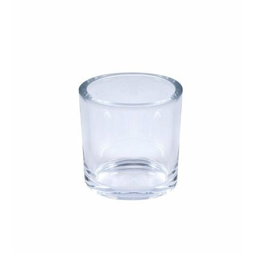Raaf Bloempot / Waxinelichthouder | Glas