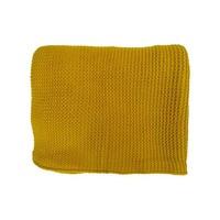 Plaid Spring geel | 130x170 cm