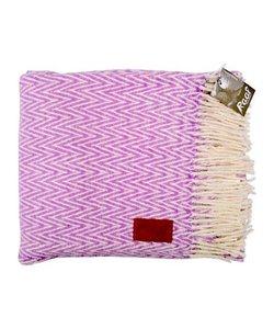 NEW: Raaf throw - Herringbone pink 130x170 cm