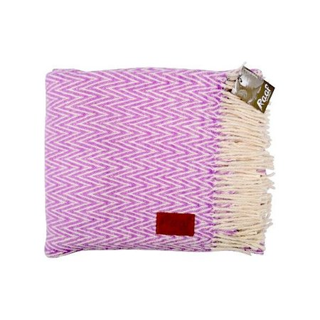 Raaf NEW: Raaf throw - Herringbone pink 130x170 cm