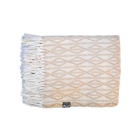 Raaf Plaid Atlas cream 130X170