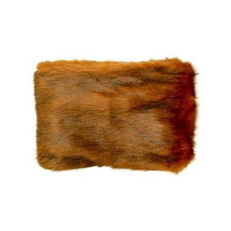 Raaf PLAID ANTILOPE LUXURIOUS FUR | CARAMEL