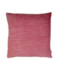 Sierkussenhoes Christien roze-rood 35x50