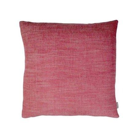 Raaf Sierkussenhoes Christien roze-rood 35x50