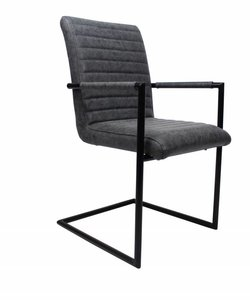 Bars dining chair black - Copy