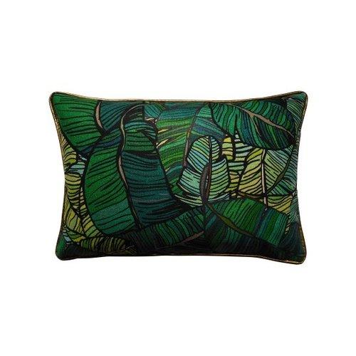 Raaf Cushion cover Dragon green