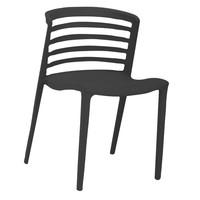 Garden chair Lucy black