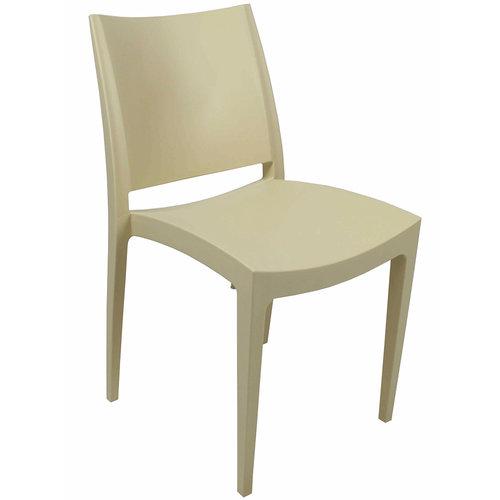Het Landhuys Garden chair Bora white