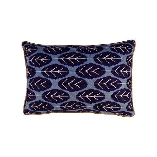 Raaf Cushion cover Leaf blue 40x60 cm