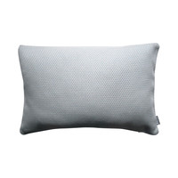 Outdoor throw pillow cover Susan blue