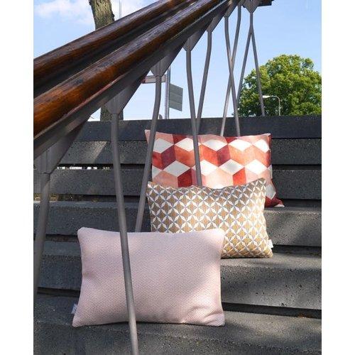 Raaf Outdoor throw pillow cover Tile orange 35x50 cm