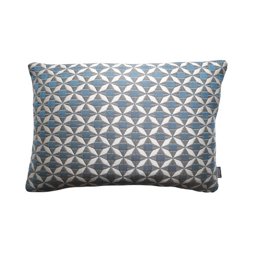 Raaf Outdoor throw pillow cover Tile blue 35x50 cm