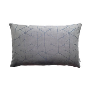 Raaf Outdoor throw pillow cover Storm blue