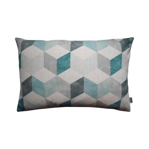 Raaf Outdoor cushion cover Blok petrol