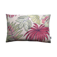 Outdoor cushion cover Leaf pink