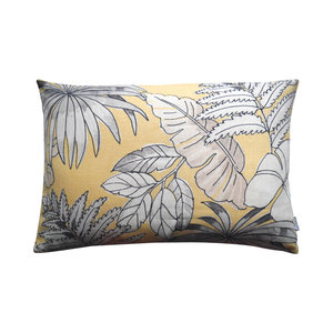 Raaf Outdoor cushion cover Leaf yellow