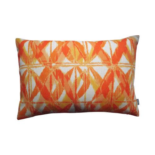 Raaf Outdoor sierkussenhoes Batik oranje