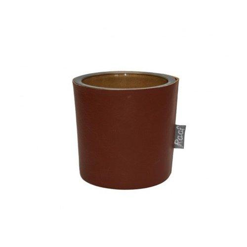 Raaf Waxine light holder cognac