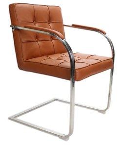 Chair Bauhaus 9 boxes cognac