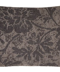 Cushion cover Vintage flower taupe