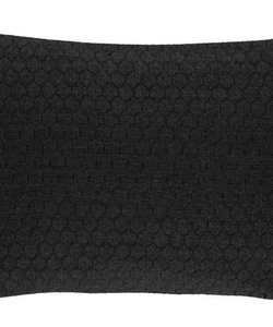 Cushion cover Bijenkorf black 35x50