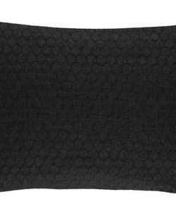 Sierkussenhoes Bijenkorf zwart 35x50