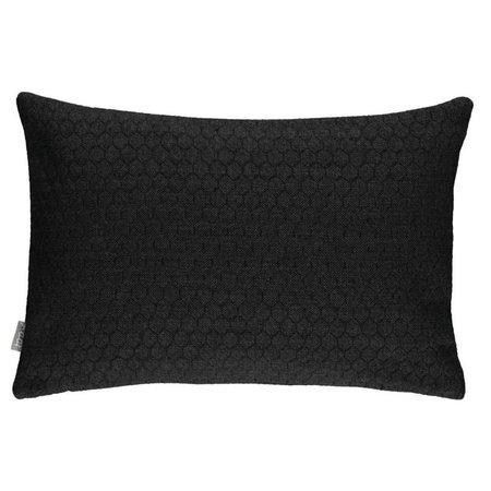 Raaf Cushion cover Bijenkorf black 35x50