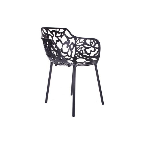 CastMagnolia Cast Magnolia chair Black/white (with armrests)