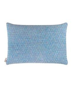 Sierkussenhoes Bijenkorf blauw 35x50