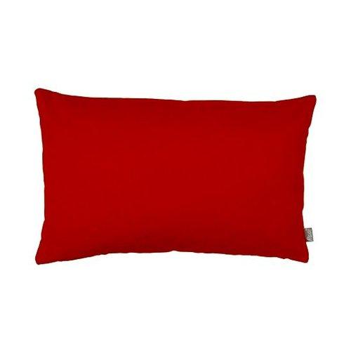 Raaf Cushion cover Suedine red-orange 40x60cm