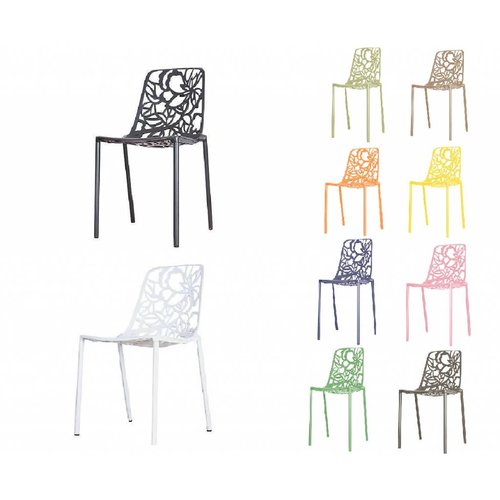 CastMagnolia Chair Black/White (without armrests)