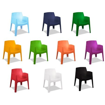 Het Landhuys Tuinstoel Olivera Box in 6 kleuren