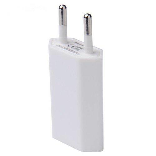 USB oplader 1Ah wit