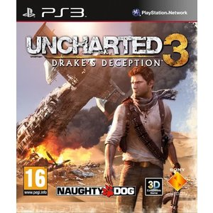 PS3 Uncharted 3 drake´s deception