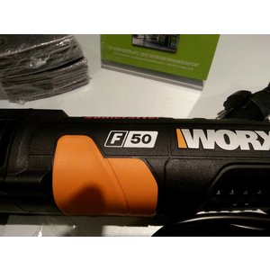 Worx Workx sonic crafter multitool F50