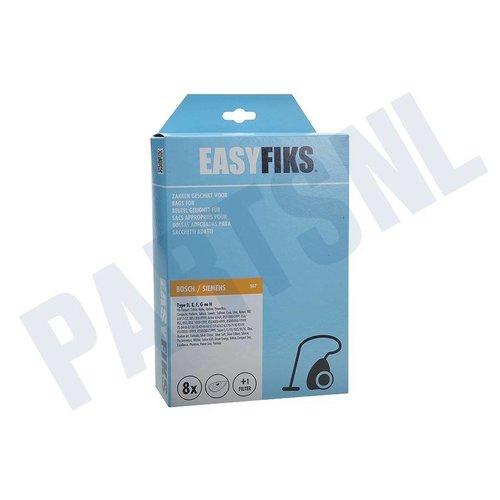 Easyfiks Stofzuigerzak Bosch / Siemens Type D,E,F,G,H