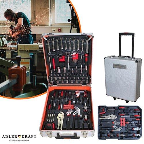 Swisskraft 399 delige gereedschapset met koffer