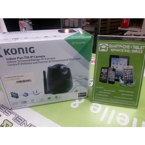 Konig Indoor pan-tilt IP camera