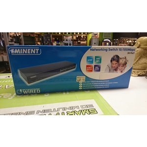 Eminent 24-port Networking Switch 10/100Mbps