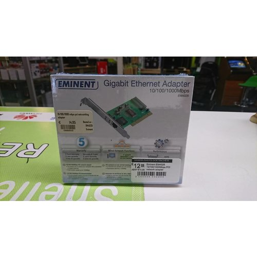 Eminent EM4028 10/100/1000Mbps PCI network adapter