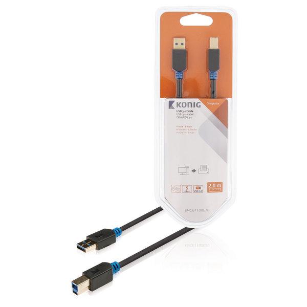 USB 3.0 Kabel USB A Male - USB-B Male